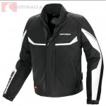 Chaqueta moto Robotic H2OUT - Spidi - Negro/Blanco